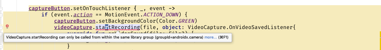 Building a video recording application in Android with CameraX